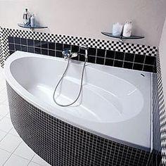 bathroom decor corner bathtub Source by annabellegeoffr