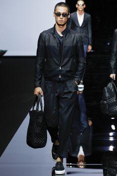 défilé homme, printemps-été 2015, Emporio Armani #mode #fashion #couture