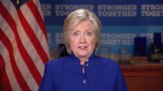 Clinton: 'Why aren't I 50 points ahead?' of Trump  She is attacking Trump for right to work.  She is saying that he built up his wealth stiffing small business and contractor.  Hmmmm she built up her business by selling out America to the highest bidder.