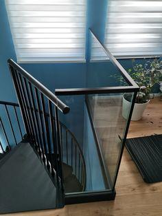 Mezzanine Blinds, Stairs, Curtains, Home Decor, Mezzanine, Asylum, Stairway, Decoration Home, Room Decor