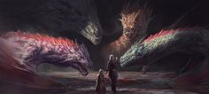 ArtStation - Lair of the Targaryens, Hazem Ameen