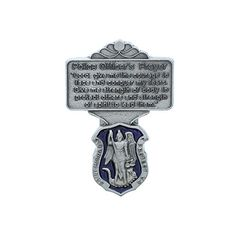 #St. #Michael #Police #Officer #Visor #Clip #Blue #Enamel with #Prayer #POLICE OFF. #PRAYER #VISOR #CLIP #BLUE #ENAMEL - CARDED PEWTER #VISOR #CLIP https://automotive.boutiquecloset.com/product/st-michael-police-officer-visor-clip-blue-enamel-with-prayer/