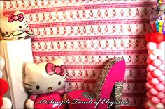 Hello Kitty Birthday Ideas  Photo Booth