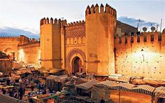 Fes, intellectual capital of Morocco.