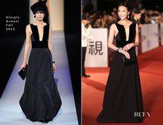 Sonia Sui In Giorgio Armani – 50th Golden Horse Awards - Red Carpet Fashion Awards