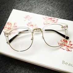 Clear Frame Glasses via HONEYMIX.. Click on the image to see more!