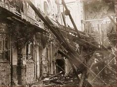 the events on November 9, 1938 where, throughout Germany a large number of Jewish Synagogues, business establishments and homes were damaged or destroye