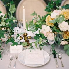 Magnolia Rouge Magazine / Rylee Hitchner Photography / Joy de Vivre Event Design Boutique/ The Fozzy Book calligraphy, Kelly Kaufman florals