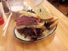 Corned Beef and Pastrami from Kenny & Ziggy's in Houston.
