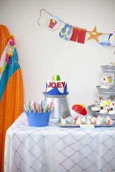 It's a Beach Bash.....2nd Birthday Party for Joey