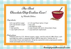 Best ever! Chocolate chip cookies & more delicious corn, soy and dairy free recipes!