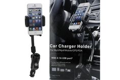 $19 for a Car Mount and Dual USB Charger - Shipping Included