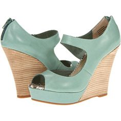 Seychelles Down To The Wire Seafoam Leather - Zappos.com Free Shipping BOTH Ways