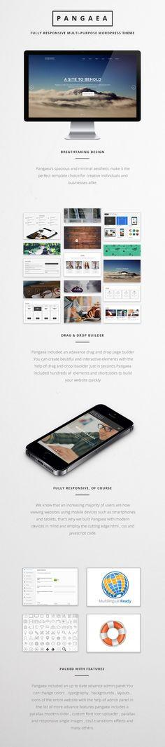 WP Theme Of the Day #234 – Pangaea – Creative Multipurpose WordPress Theme