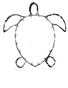 sea turtle shape
