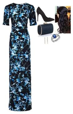 """Attending the Lord Mayor's Charity Fashion Show and Reception"" by fashion-royalty ❤ liked on Polyvore featuring Beulah, Alexander McQueen, Jimmy Choo and Blue Nile"