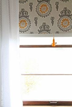 How to make a Fabric Covered Roller Shade