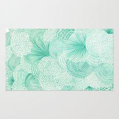 mint green rug = love