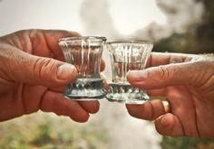 INTRODUCTION TO RAKIJA (MACEDONIAN BRANDY) A cup of homemade rakija, a cure for everything! Cheers! Rakija or Macedonian brandy comes under the category of natural medicine, a secretly popular weapon against many diseases, together with olive oil, garlic, honey and other local products..so they say ...