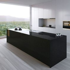 17 Best Kitchen Countertop Ideas Kitchen Island Photos & Galleries - Microwaves - Ideas of Microwaves - Tags: kitchen countertops kitchen countertop options kitchen countertop paint kitchen countertop decor kitchen countertops granite Kitchen Worktop, House Design, Luxury Kitchens, Contemporary Kitchen, Kitchen Countertop Decor, Modern Interior Design, Modern Kitchen Design, Best Kitchen Designs, Luxury Kitchen Design
