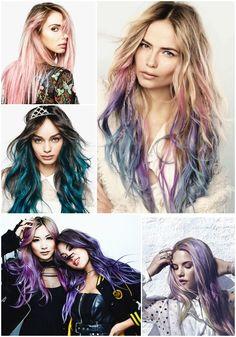 colorista loreal, colored ombre, festival hair, festival inspiration, festival trend