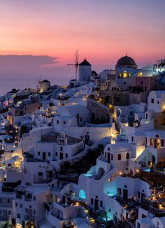 Sunset on Oia in Santorini, Greece photo by lensandshutter on Envato Elements Santorini Greece, Airplane View, Sunset, Photography, Inspiration, Ideas, Biblical Inspiration, Photograph, Fotografie
