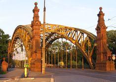 Most Zwierzyniecki (The Zwierzyniecki Bridge), Wrocław, Poland
