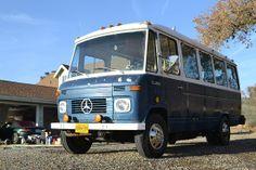 1975 Mercedes bus-neat conversion project