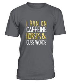 I Run On Horse Shirt  #image #grandma #nana #gigi #mother #photo #shirt #gift #idea