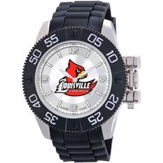 Game Time Ncaa Men's University of Louisville Cardinals Beast Series Watch, Silver