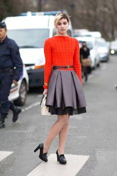 Paris Fashion Week 2014  Street Style.