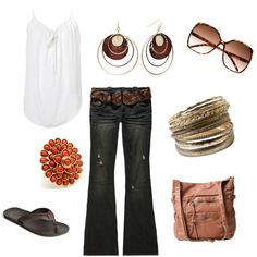 casual, created by danielle-spakes on Polyvore