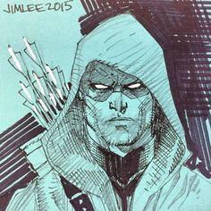 Green Arrow by Jim Lee *