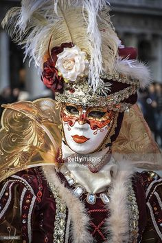 People dressed in Carnival Costume are seen during the Venice 2015 Carnival on February 07, 2015 in Venice, Italy. The Venice 2015 Carnival (the Carnevale) will take place from January 31 to February 17 and includes a program of gala dinners, parades, dances, masked balls and music events.