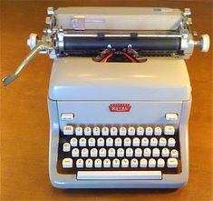 I learned to type on a Royal like this. Sweet Memories, Childhood Memories, Learn To Type, Seasons In The Sun, Those Were The Days, Do You Remember, Retro, Vintage, Crazy Cars