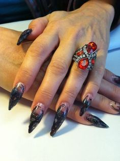 Halloween witch nails #Hang10Nails #bestnailtechever