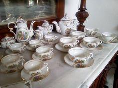Shimokata made in Japan porcelain coffe & tea set