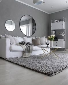 Grey is so underated.But a few colorful pillows would look good.