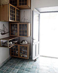 Made a Mano hand cut terracotta tiles Decor, House, Interior, Tiles, Home, Interior Details, Indoor Decor, Interior Design, Kitchen Design