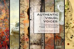Authentic Visual Voices: Contemporary Paper and Encaustic The book!