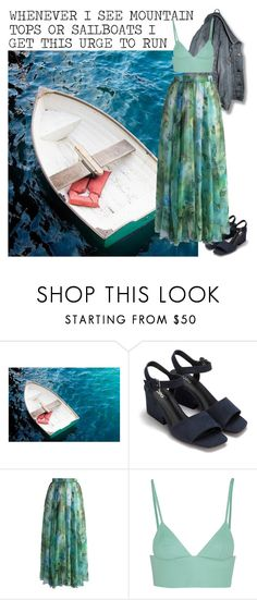 """""""Spring has come to the southern hemisphere"""" by kimabalee ❤ liked on Polyvore featuring Chicwish and T By Alexander Wang"""