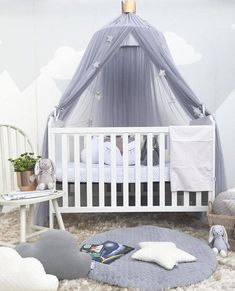 Baby Bedding Knowledgeable New Kid Baby Bed Canopy Cotton Mosquito Net Crib Netting Baby Curtain Bedding Round Dome Tent