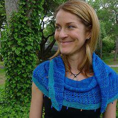 Ravelry: Summer in Angers Shawl pattern by Elizabeth Green Musselman