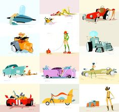 SketchThisOut by Simone Massoni | chicks & wheels