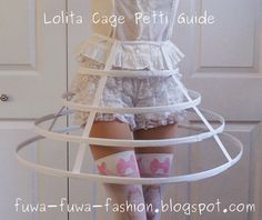 This is less of a tutorial and more of a guide to create your own cage petti for lolita fashion. It will aid you in making one exactly the...