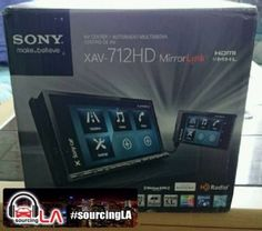 Sourcing-LA: Sony Smartphone Connected 7 AV Receiver - XAV712HD...
