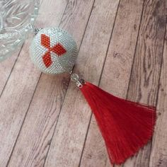 Снова Мицубиси, но в другом варианте #mitsubishi #автошарик #handmade #шарикизбисера