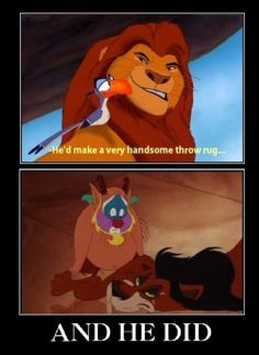 Image result for scar lion king bitch im fabulous Disney Memes, Funny Disney Jokes, Disney Quotes, Funny Humor, Funny Stuff, Funny Quotes, Funny Mems, Hilarious Memes, Memes Humor