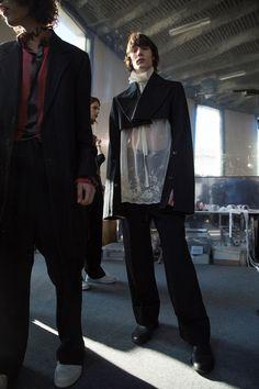 Ann Demeulemeester AW17 Menswear Paris Dazed
