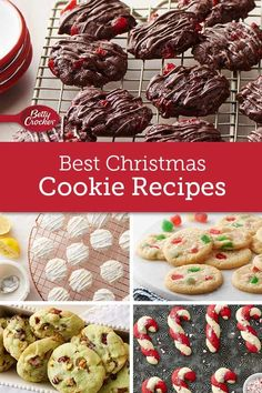 It's Not Christmas Without These Scratch-Made Cookies We've made the list. Now it's time for you to check it twice! Learn how to make cookies from gingerbread to spice with Betty's best scratch Christmas cookie recipes. Cookie Desserts, Holiday Baking, Christmas Desserts, Cookie Recipes, Hot Desserts, Sweets Recipes, Plated Desserts, Drink Recipes, Baking Recipes